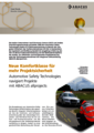 Anwenderbericht Automotive Safety Technologies - ASTech navigiert Projekte mit ABACUS allprojects