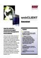 "Datenblatt ""WebClient"""